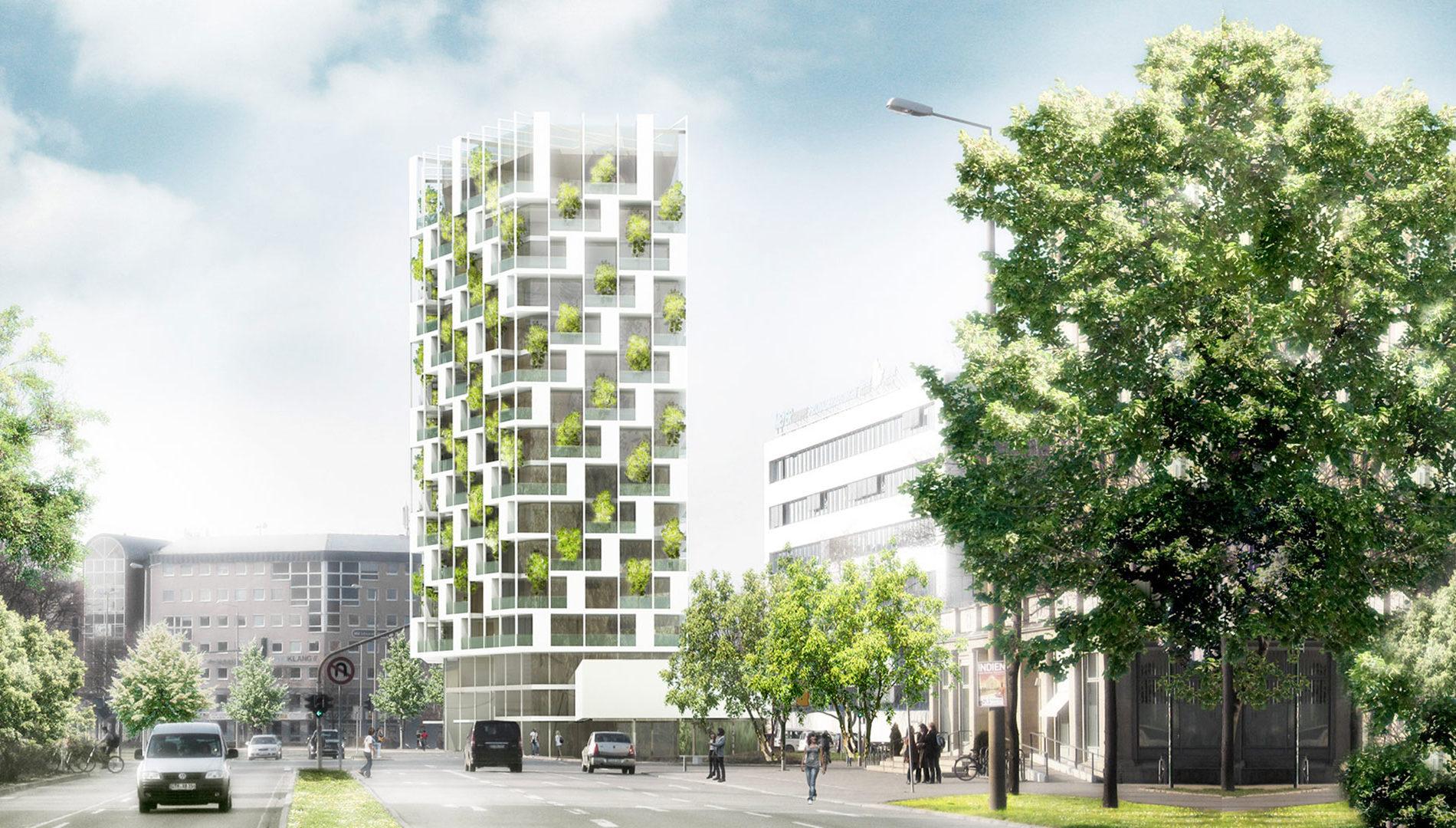 SMART LIVING Urbanes Wohnen am Juri-Gagarin-Ring, Erfurt *1. Preis
