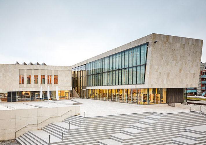 Bibliothek und Bürgerhaus Nordhausen