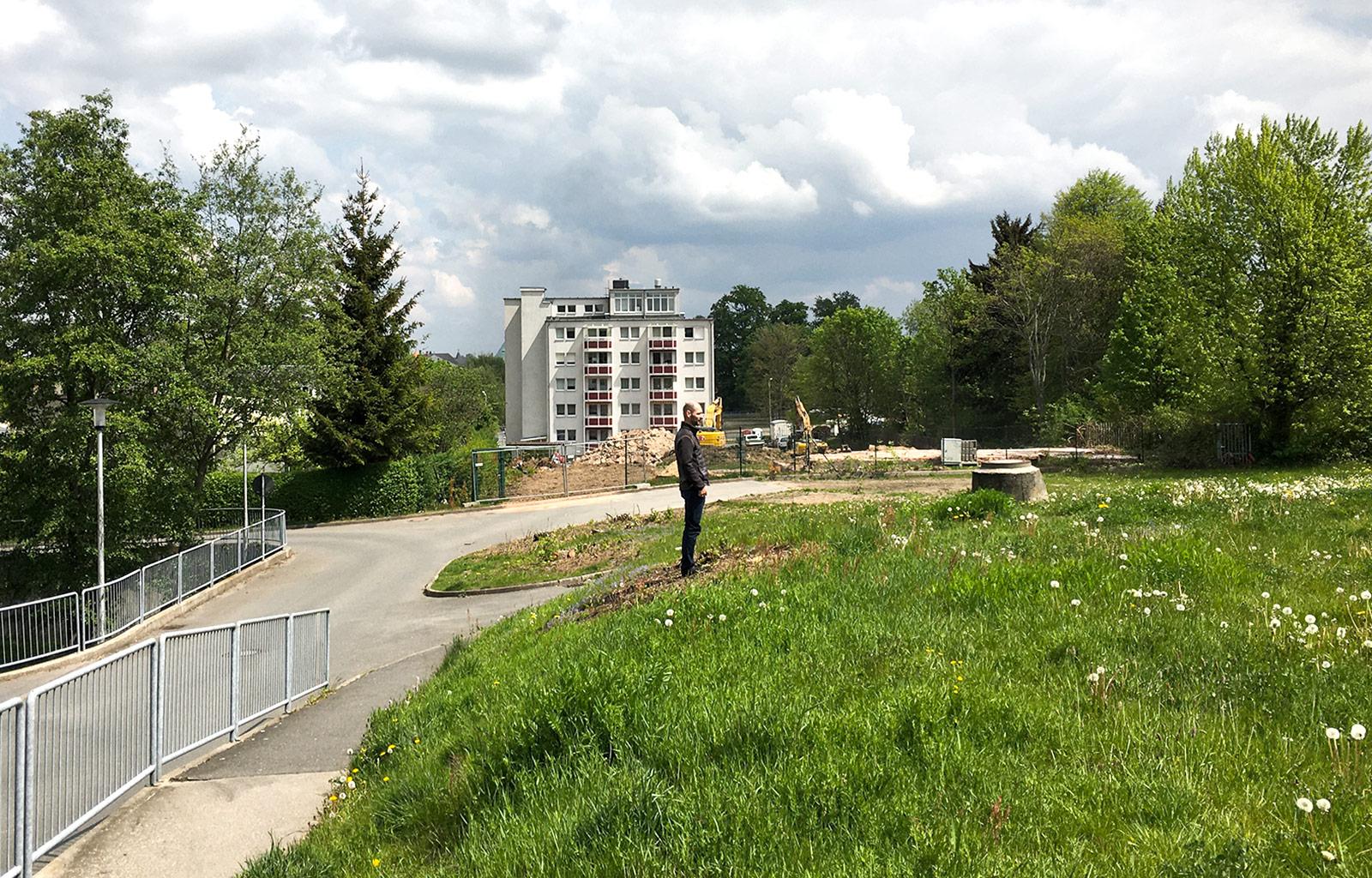 Wohnen am Freiberger Garten in Freiberg