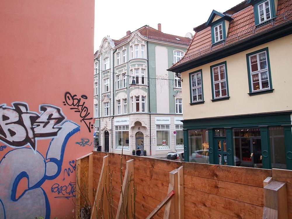 Wir freuen uns über die Fortsetzung Wohn- und Geschäftshaus Lange Brücke in Erfurt