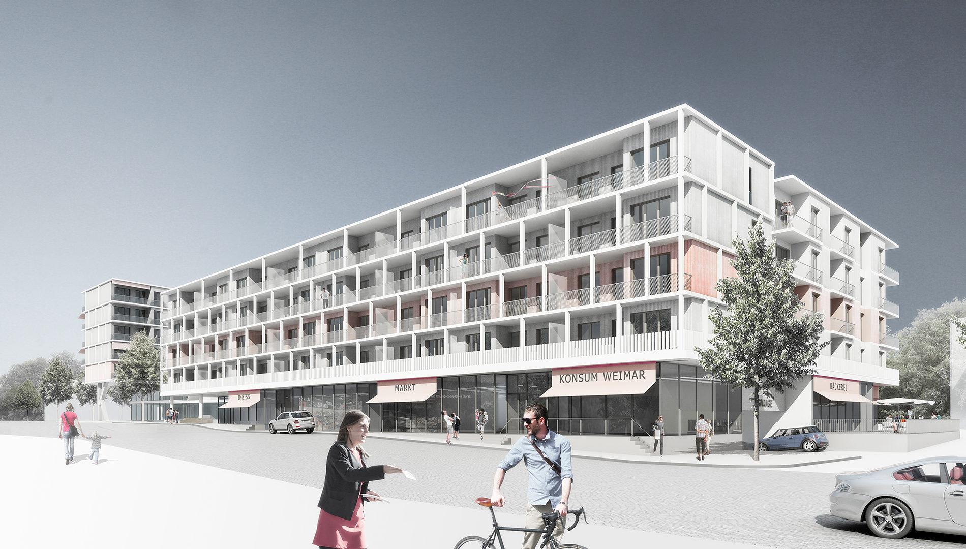 Wohn- und Geschäftshaus Weimar Nord