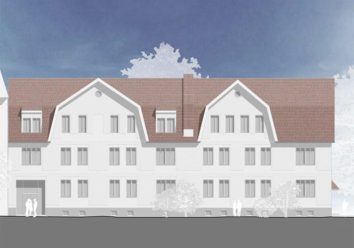 Umbau und Sanierung Bahnhofstraße 30 Sömmerda