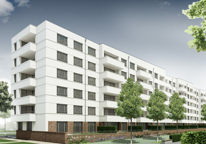 Neuer Wohnungsbau auf dem ehemaligen VAG-Areal Nürnberg